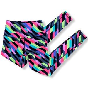 Victoria's Secret Sport Multicolored Leggings